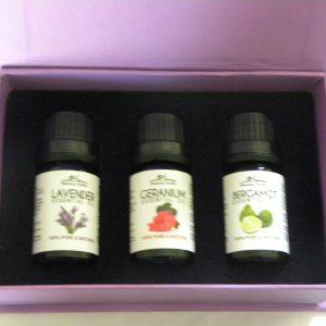 Stress relief essential oils