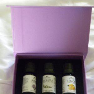 3 Essential Oils box - Basic
